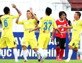 Hà Nội T&T thách thức ngôi vô địch với hai đội đầu bảng