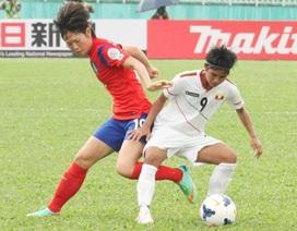 Hàn Quốc và Trung Quốc thắng đậm hai đại diện Đông Nam Á