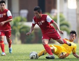 U19 Việt Nam mất tiền vệ Hoàng Thống vì chấn thương