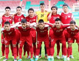 U19 Việt Nam thua HA Gia Lai trong trận giao hữu