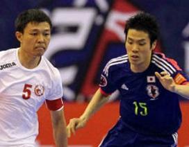 Thái Lan và Nhật Bản sẽ đụng nhau tại tứ kết giải futsal châu Á 2014