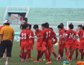 """VCK bóng đá nữ châu Á 2014: Chia thành """"hai mâm"""""""