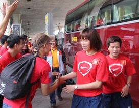 Đội tuyển bóng đá nữ Việt Nam về nước, sẵn sàng cho VCK giải châu Á