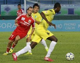Vòng 19 V-League 2014: Ưu thế vẫn thuộc về 2 đội đầu bảng