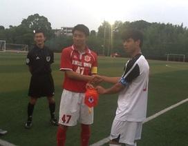 U19 Việt Nam tuột mất chiến thắng trước đại học Kansai