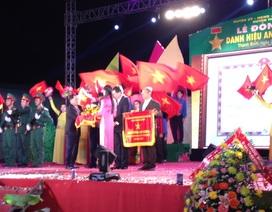 Huyện nghèo vinh dự đón nhận danh hiệu anh hùng lao động