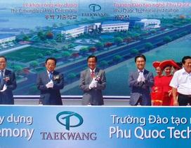 Hàn Quốc đầu tư trường nghề tại Phú Quốc