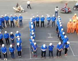 100 đoàn viên An Giang đạp xe hưởng ứng Giờ trái đất 2016
