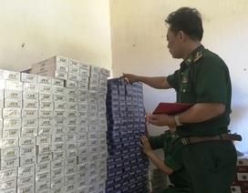 Lợi dụng ngày lễ, vận chuyển 12.700 gói thuốc lá lậu qua biên giới