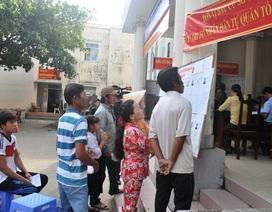 Một tổ bầu cử bị hủy kết quả vì phát hiện vi phạm