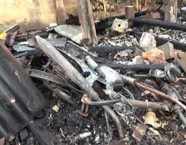 Hỏa hoạn thiêu rụi hoàn toàn 2 căn nhà