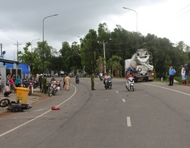 Xe máy va chạm với xe bồn, 1 ngư dân  tử vong
