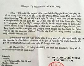 Tước đất của dân giao cho doanh nghiệp: Chính phủ yêu cầu Kiên Giang báo cáo trước 30/9!