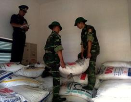 Bộ đội Biên phòng bắt giữ vụ nhập lậu 5 tấn đường