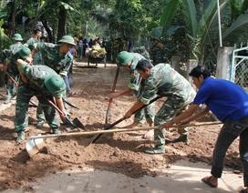 Gần 800 triệu đồng của tuổi trẻ An Giang giúp dân xây dựng nông thôn mới