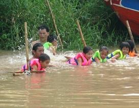 An Giang đưa môn bơi vào dạy chính khóa trong môn thể dục