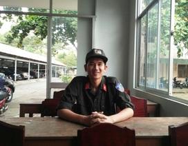 Chiến sĩ cơ động đạt điểm 10 môn Sử thừa điểm vào Học viện Chính trị CAND