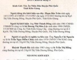 Hai cán bộ xã ở Phú Quốc xin nghỉ việc vì nợ tiền tỷ