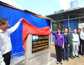 Hơn 300 hộ dân vùng biên giới vui mừng vì có nước sạch