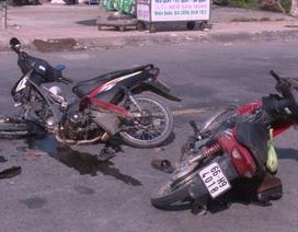 Say xỉn lái xe gây tai nạn, 3 người bị thương nặng