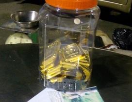 Thông báo tìm chủ sở hữu 18kg vàng bị bắt giữ tại biên giới