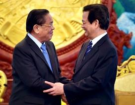 Thủ tướng Nguyễn Tấn Dũng hội kiến các nhà lãnh đạo cấp cao Lào