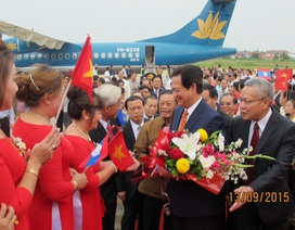 Thủ tướng: Nghiêm túc, minh bạch khi thực hiện dự án lớn tại Lào