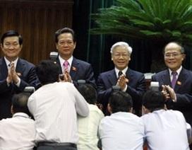 4 chức danh đứng đầu các cơ quan nhà nước có 3 phút tuyên thệ nhậm chức