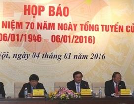 Lễ kỷ niệm 70 năm ngày Tổng tuyển cử đầu tiên diễn ra tại phòng họp Diên Hồng