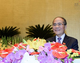 Quốc hội đồng ý miễn nhiệm chức vụ Chủ tịch với ông Nguyễn Sinh Hùng
