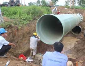 Phó Thủ tướng: Rà soát toàn bộ dự án đường ống nước DN Trung Quốc trúng thầu