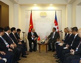 Thủ tướng gặp lãnh đạo các nước ASEAN tại hội nghị Sochi