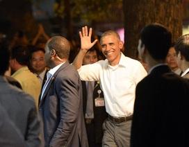 40 giờ ấn tượng của Tổng thống Obama tại Hà Nội