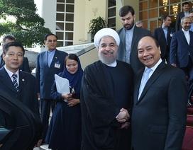 Tổng thống Iran, Thủ tướng Việt Nam mong hiện thực hoá hợp tác dầu khí
