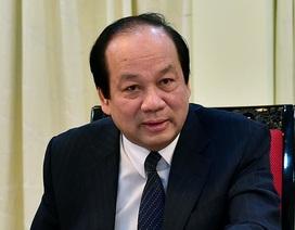 Đề xuất nhiều phương án cách chức nguyên Bộ trưởng Vũ Huy Hoàng