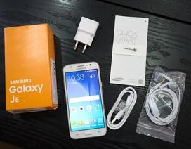 Đập hộp Samsung Galaxy J5 chính hãng tại Việt Nam