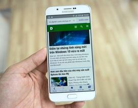 Đập hộp Galaxy A8 mỏng nhất của Samsung tại Việt Nam