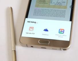 Đánh giá nhanh cây viết S Pen trên Galaxy Note 5