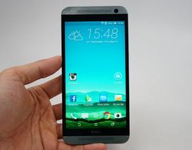 Cận cảnh HTC One E9 mới lên kệ thị trường Việt