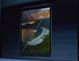 iPad Pro màn hình cỡ lớn chính thức ra mắt, giá từ 800 USD