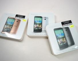 Đập hộp HTC M8 Eye chính hãng tại Việt Nam