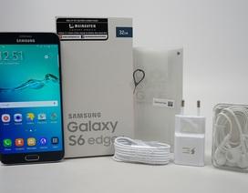 Đập hộp Galaxy S6 edge+ chính hãng tại Việt Nam
