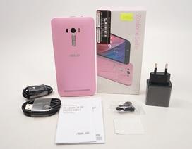 Đập hộp Asus Zenfone Selfie màu hồng chính hãng tại Việt Nam