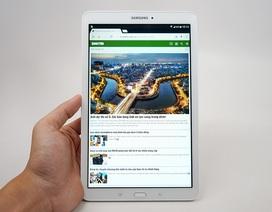 Đập hộp Samsung Galaxy Tab E chính hãng tại Việt Nam