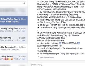 Lừa đảo trên Facebook tiếp tục hoành hành