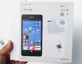 Đập hộp Lumia 950 chính hãng sắp bán tại Việt Nam