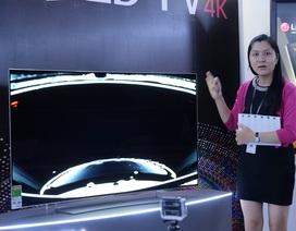 LG trình làng mẫu TV OLED 4K đầu tiên tại Việt Nam