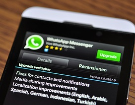 WhatsApp ngừng hỗ trợ nền tảng BlackBerry OS và Symbian vào năm 2017