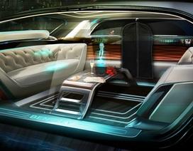 Bentley phác họa nội thất xe tự lái trong tương lai