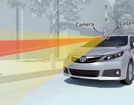 Phần lớn xe Toyota tại Mỹ sẽ được lắp phanh tự động vào năm 2017